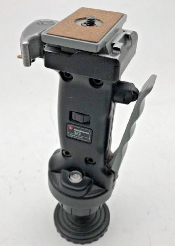 "Manfrotto mn222 joy stick tripod head with 1/4"" quick release plate"